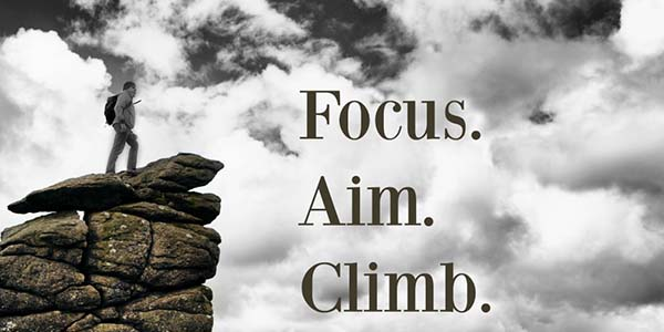 Focus to the Aim